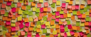 Organiseren kun je van mij leren, Post-It, Kleur