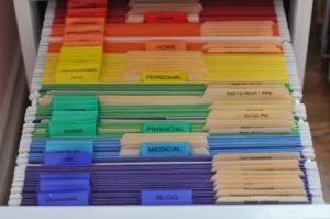 Organiseren kun je van mij leren, Tabbladen, Kleur