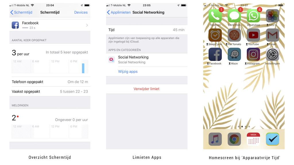 iOS 12, Schermtijd Overzicht