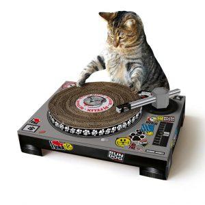 Cadeaus voor Kattenvrouwtjes, Krattenkrabpaal, plaatje via Fonq