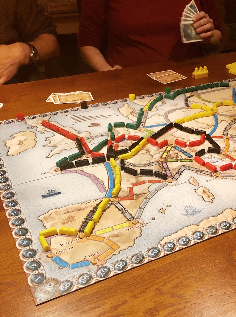 Ticket to Ride, Week 7 2020
