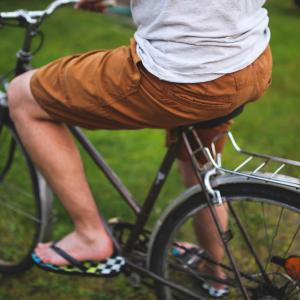 Man op fiets, Het incident met de vreemde man (met dank aan Marielotte en Nydia)