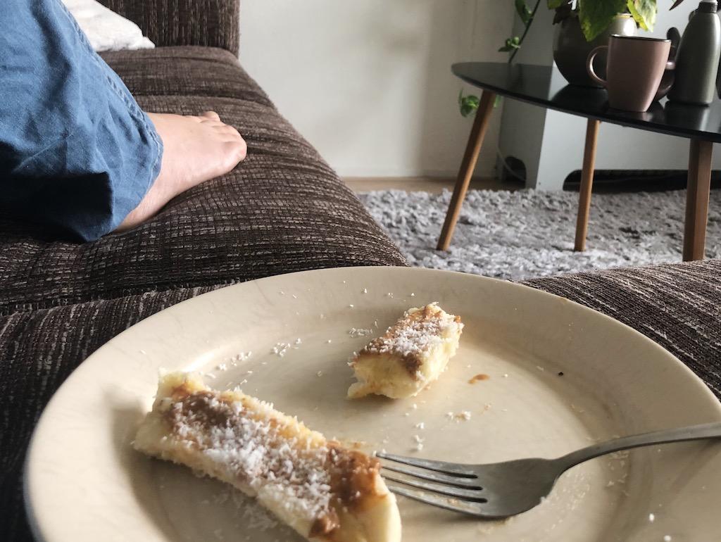 Gezonde Snack Banaan, 2020, Week 26/ Bh's, Therapie en Copy Coffee