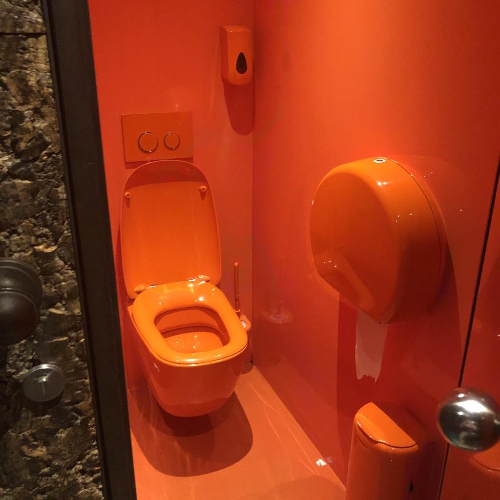 WC Pllek Amsterdam, binnen, 2020, Augustus