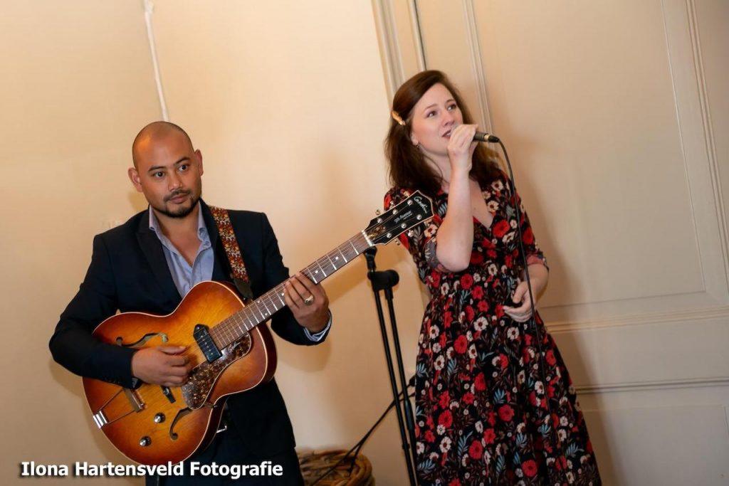 Optreden Bruiloft, Anne & Demi, Week 38