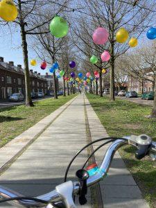 Ballonnen Speelhuislaan Breda